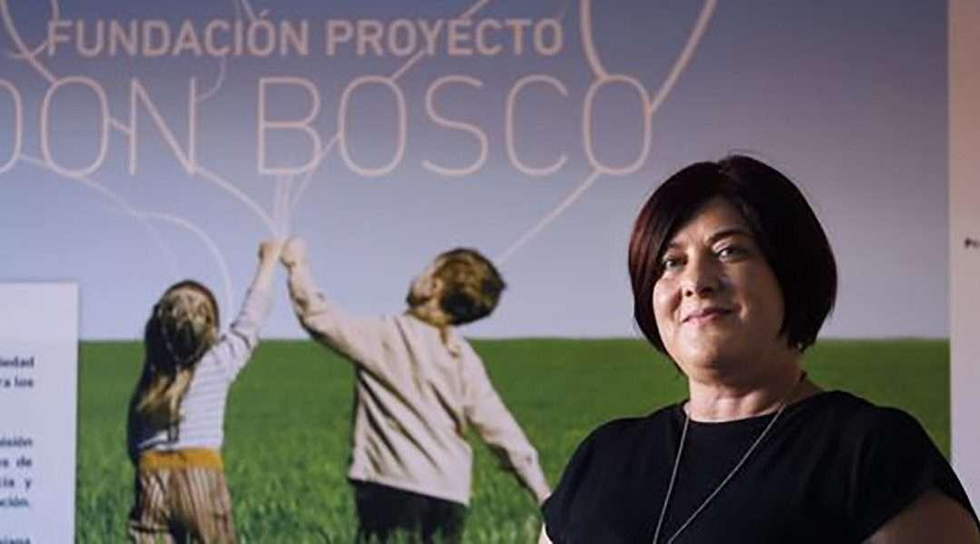 Toñi Moriana: «En la Fundación Don Bosco buscamos respuestas integrales»