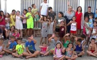 Medio centenar de menores asisten a la Escuela de Verano en Andújar