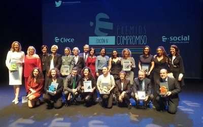 La Fundación galardonada en los Premios Compromiso de CLECE por su trabajo de inserción con víctimas de violencia de género