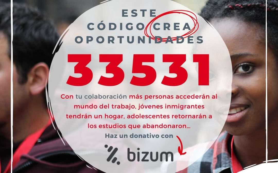 Ya puedes donar a la Fundación Don Bosco a través de Bizum con el código 33531