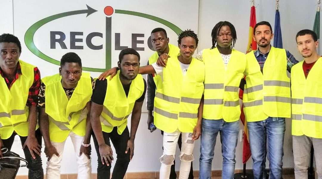 Taller medioambiental y visita a la empresa RECILEC