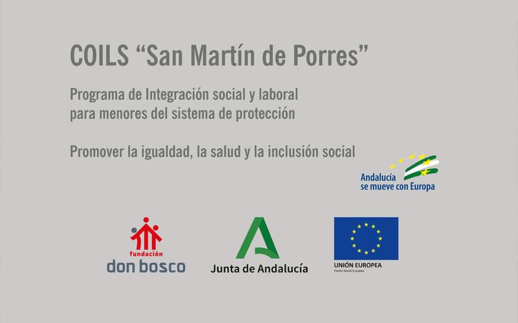 «Servicio de Acogimiento Residencial» (COILS San Martin de Porres – Jaén)