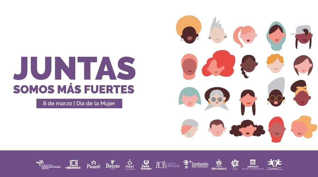 """En las Plataformas Sociales Salesianas, """"Juntas somos más fuertes"""""""