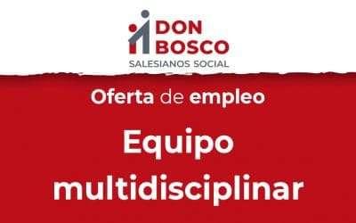 Oferta de empleo: Equipo multidisciplinar – Úbeda