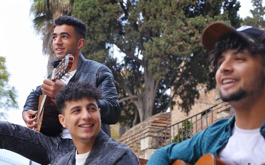 Jóvenes de Don Bosco Salesianos Social en Málaga crean el grupo musical Abuna Hadia