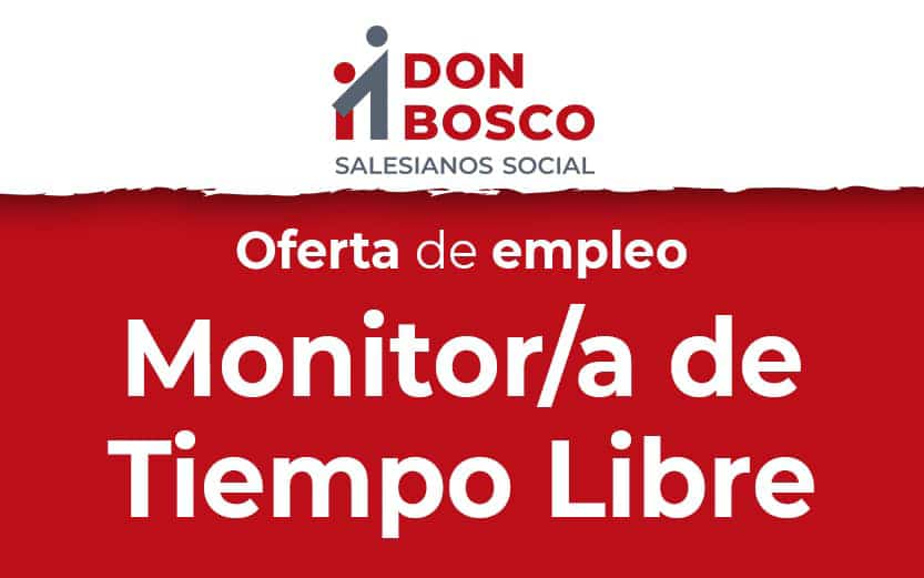 Oferta de empleo: Monitor/a de Tiempo Libre – Tenerife